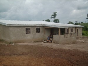 Bauprojekt Kinderheim Elfenbeinküste